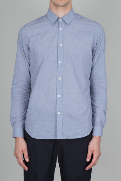 Smart Shirt - Navy Dogtooth