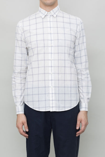 Storm Shirt - White Check