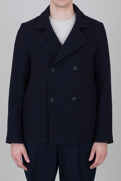 Db Overcoat - Navy
