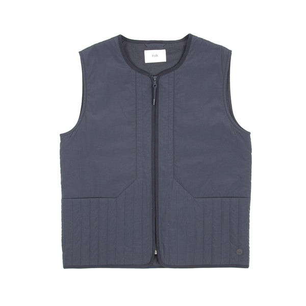 Wadded Junction Gilet - Navy