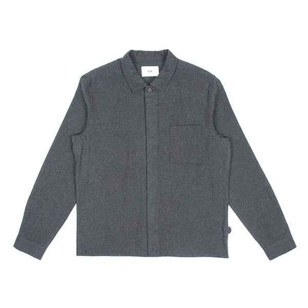 Patch Shirt - Stone Moss Flannel