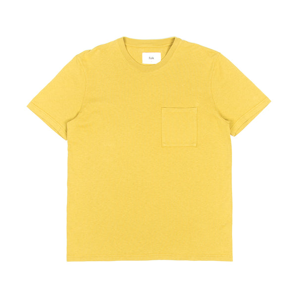 Pocket Assembly Tee - Chartreuse