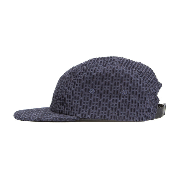 Five Panel Cap - Fracture Navy Cord