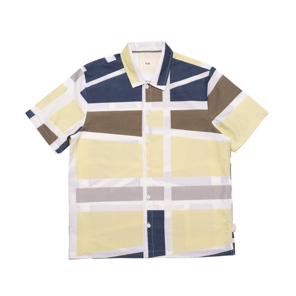 Fracture Shirt - Navy Multi