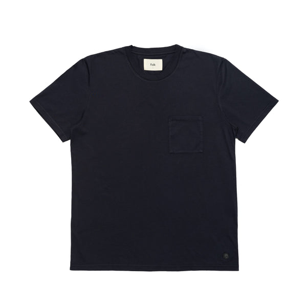 Pocket Assembly Tee - Navy