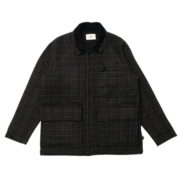 Alber Jacket - Brown Fleck Check
