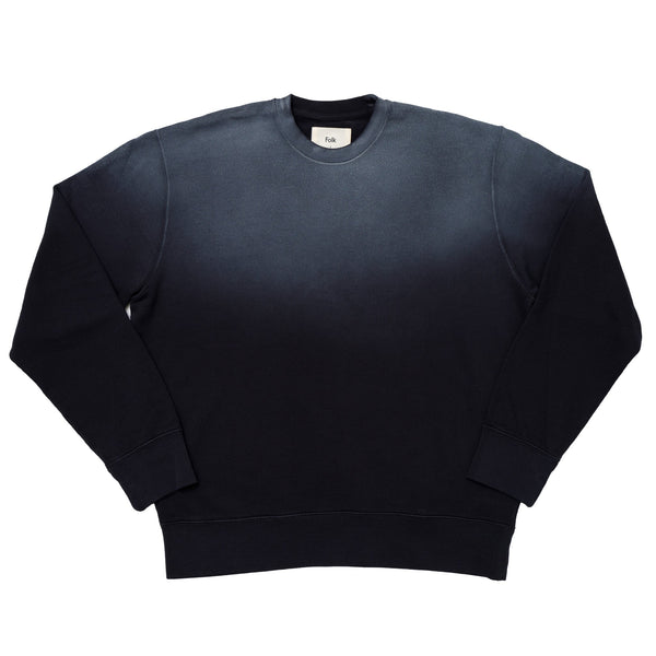 Boxy Sweat - Navy Gradient