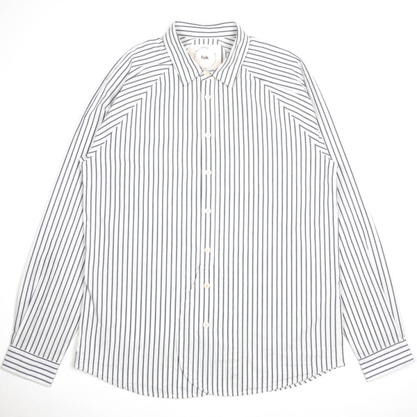 Raglan Arrow Shirt - Indigo Stripe