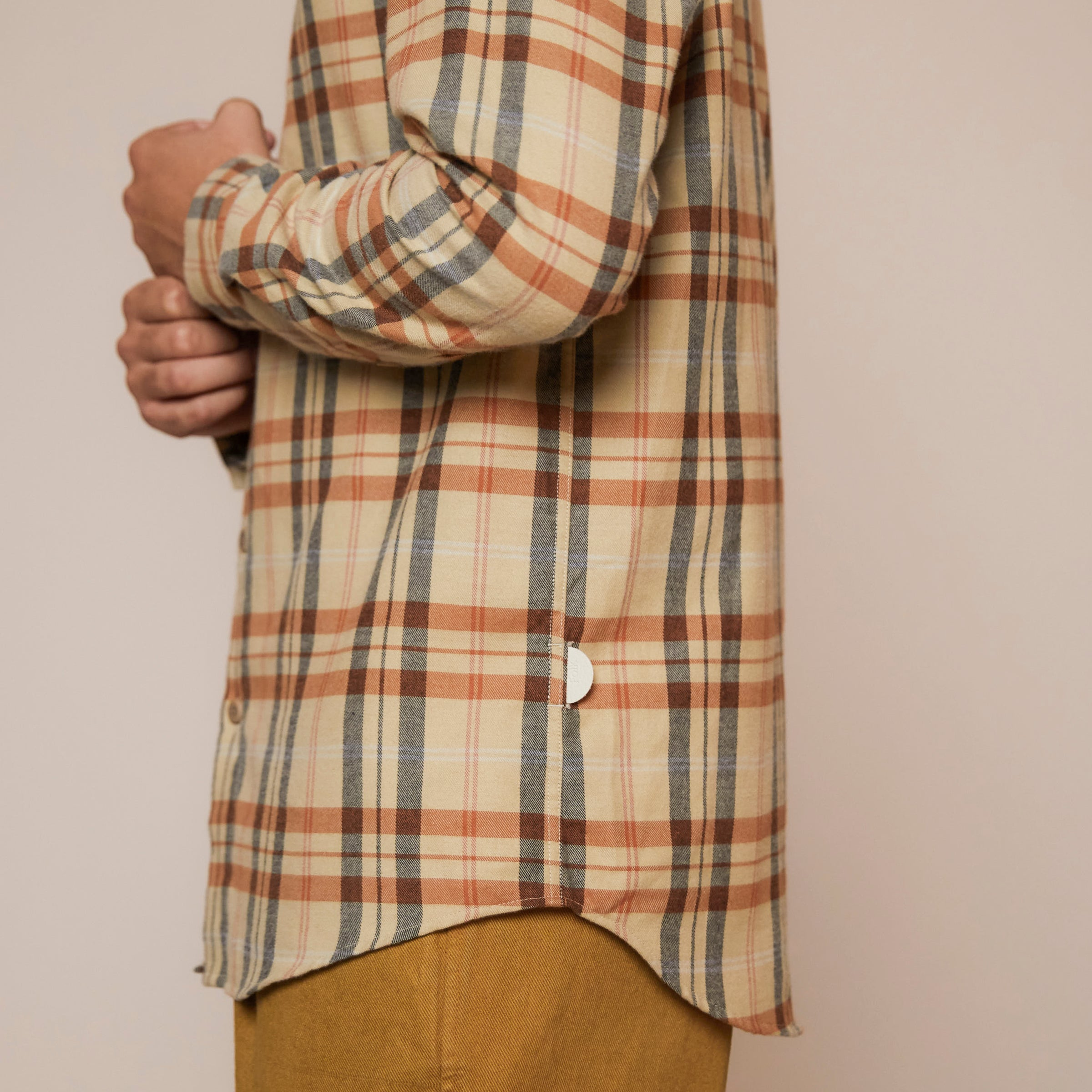 Storm Shirt - Fawn Multi Check