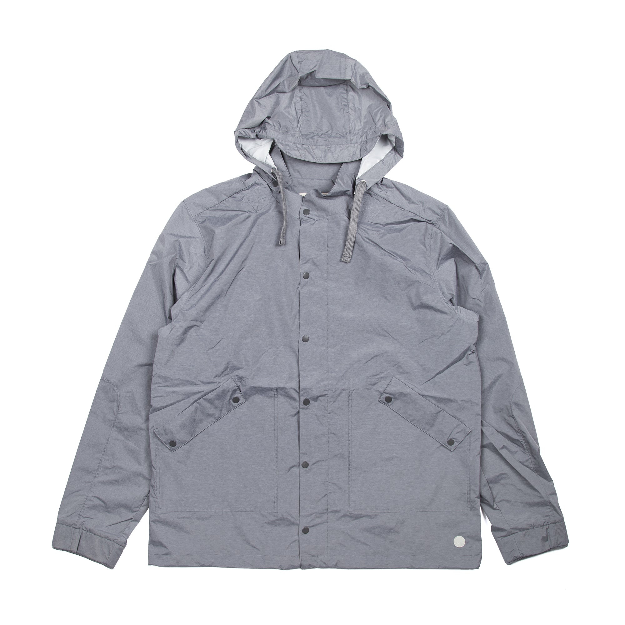 Raincoat - Silver Grey