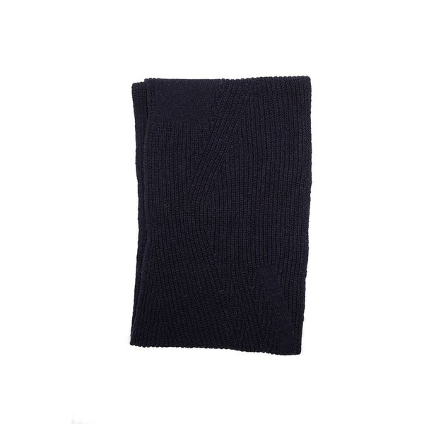IAG Folk - Directional Stitch Scarf - Navy