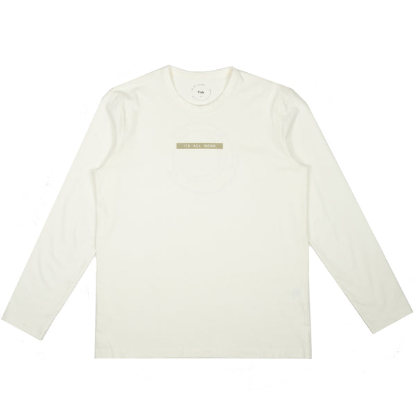 IAG Folk - Ls Arrow Tee - Off White