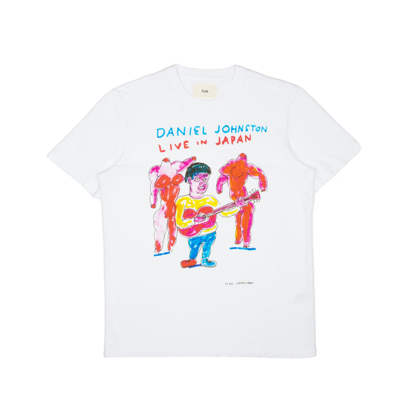 Folk x Daniel Johnston Tee - Live In Japan