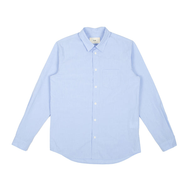 Storm Shirt With Pocket - Sky Blue
