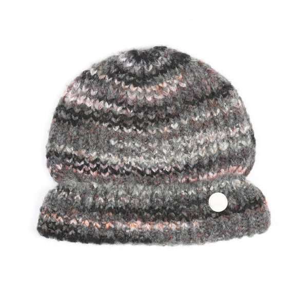Highlight Beanie - Charcoal Marble