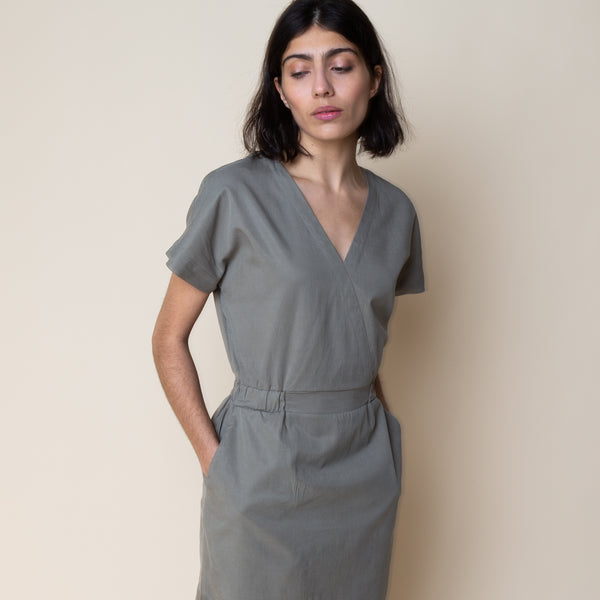 Alber Dress - Sunbleached Olive