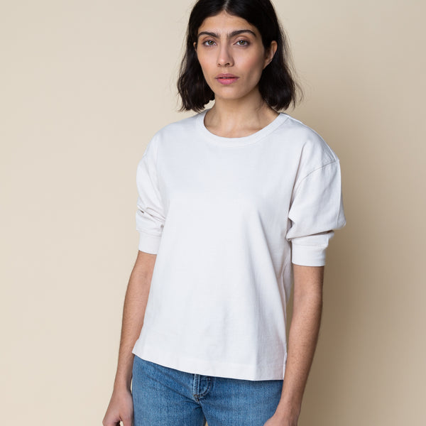 MHL - Yoke Seam T-shirt - Natural
