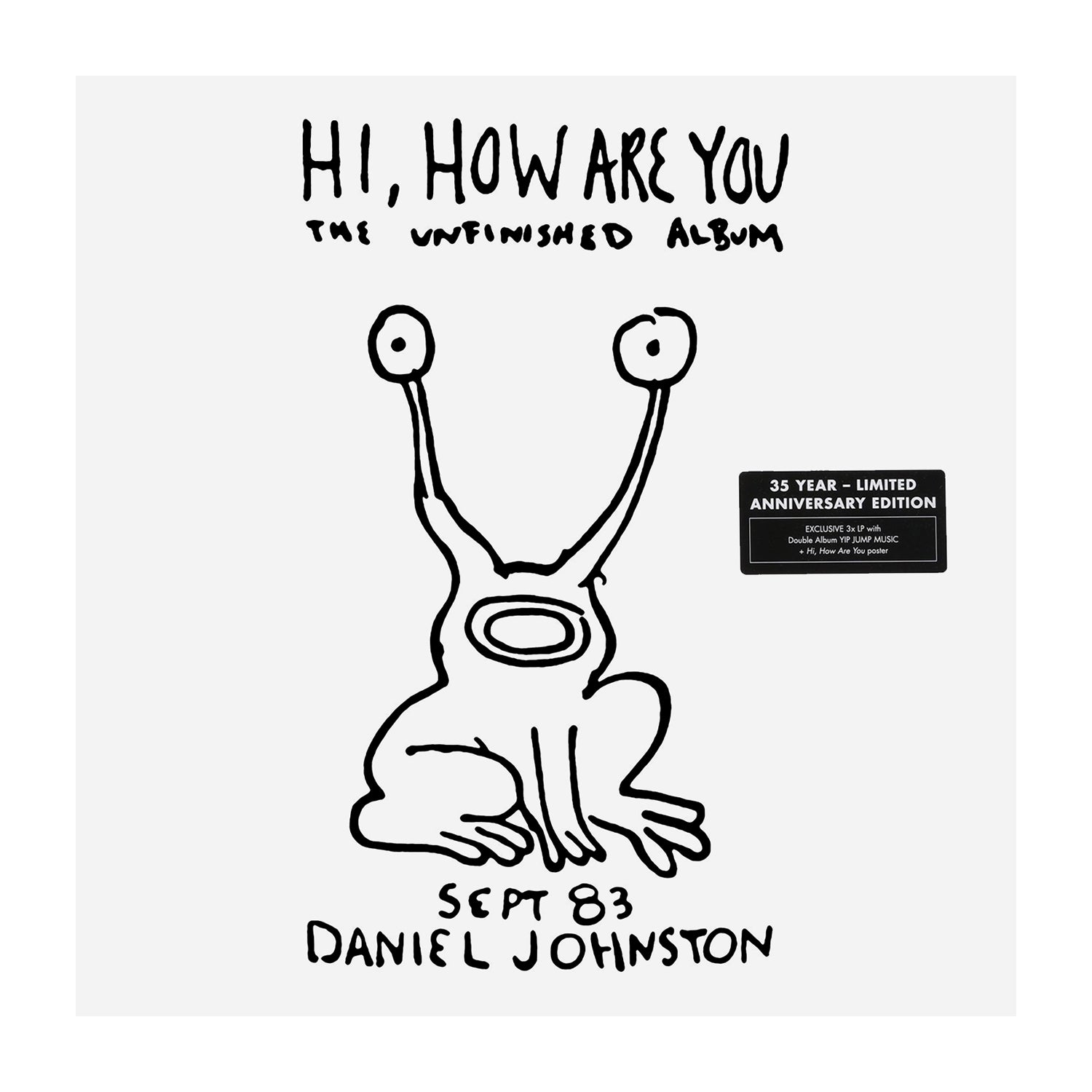 Daniel Johnston Vinyl - Hi, How Are You?