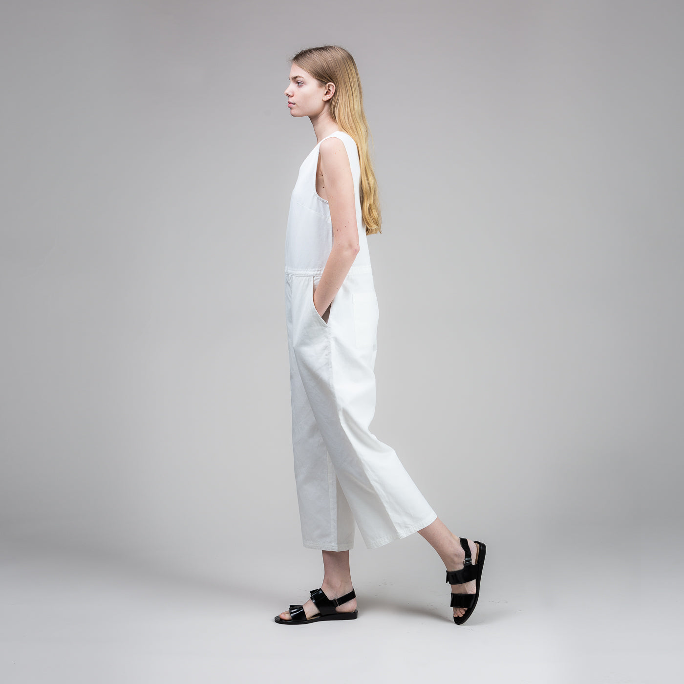 Overall - White