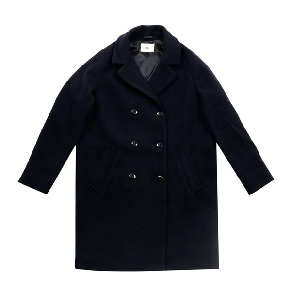 Cavi Coat - Navy
