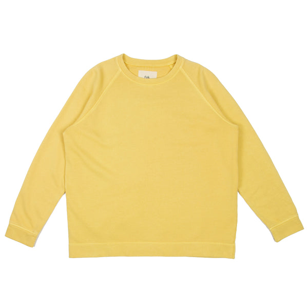 Multi Stitch Sweat - Light Gold