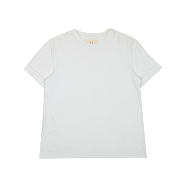 Multi Stitch Tee - White