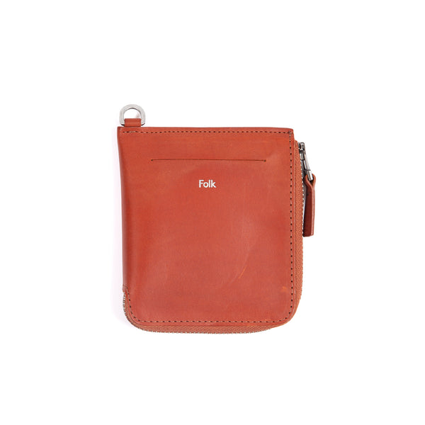 Zip Wallet - Cinnamon