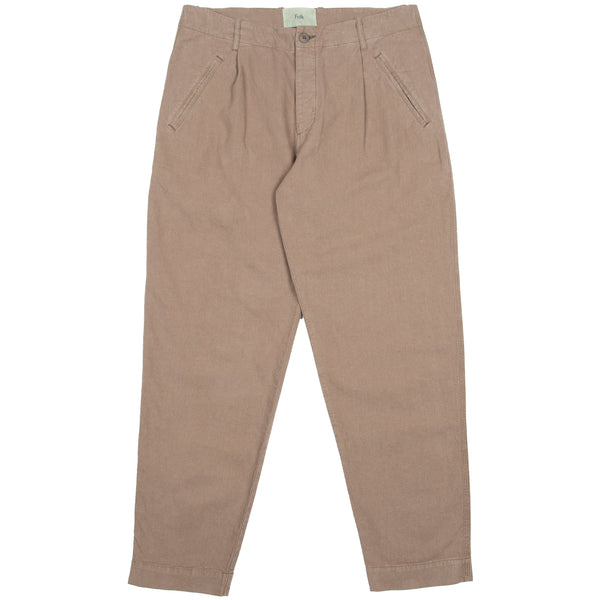 Assembly Pant - Coffee Linen