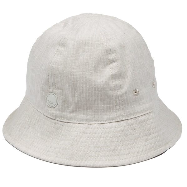 Bucket Hat - Slubby Natural Ripstop