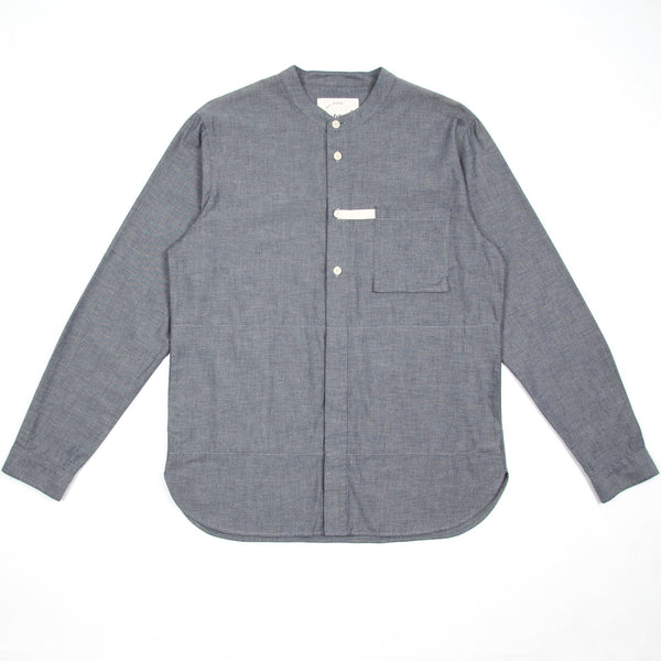 Tab Shirt - Indigo Chambray