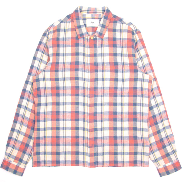 Patch Shirt - Summer Multi Check