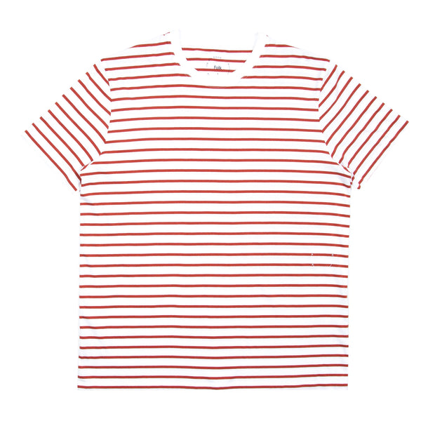 Standard Tee - Red Stripe