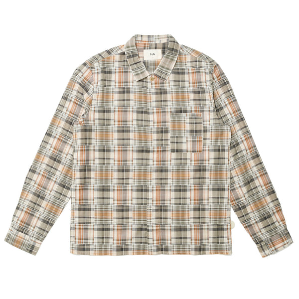 Patch Shirt - Shadow Check
