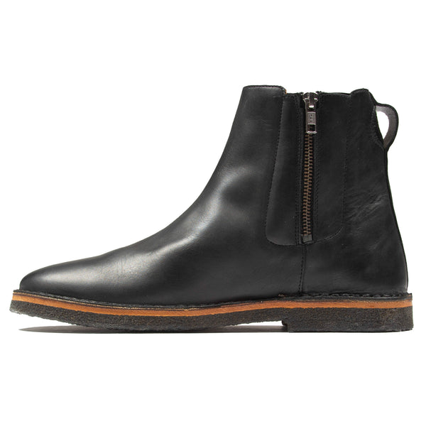 Zip Boot - Black