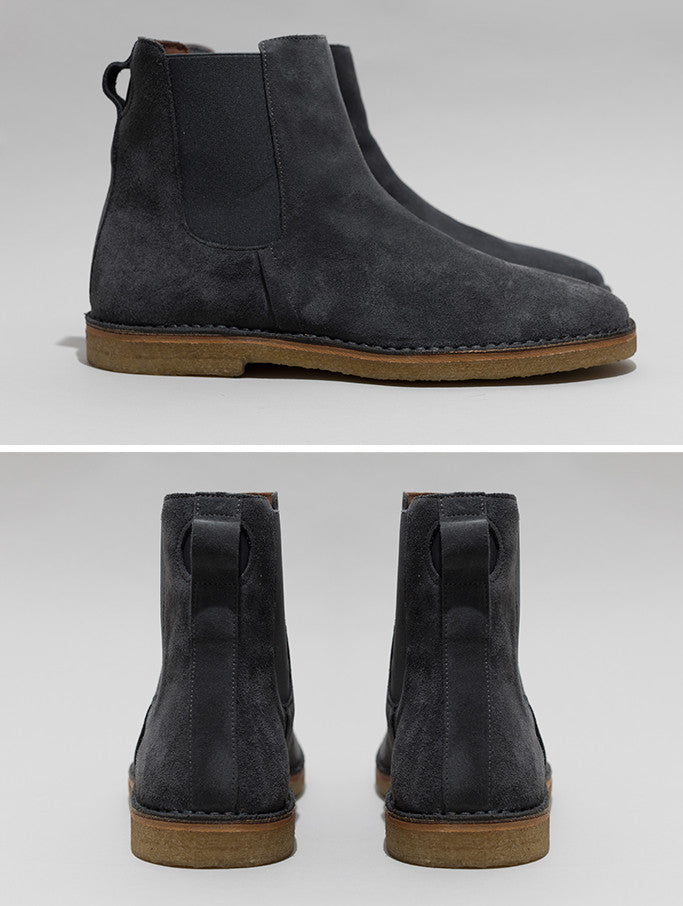 Chelsea Boot - Charcoal