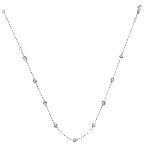 "Diamonds By the Yard 14K Adjustable 16""-18"" Rope Details"