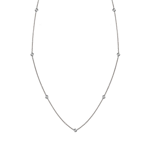 Diamonds by the Yard Necklace in 18K .05ct Diamonds