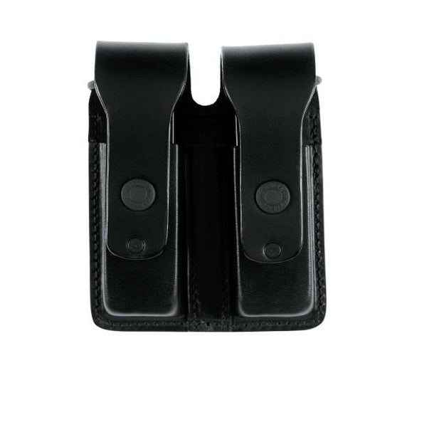 King Cobra Leather Double Mag Pouch - Team Alpha