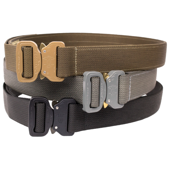 CO Shooter's Belt - Wolf Grey