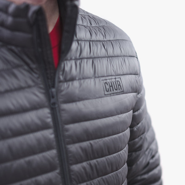 Chur Ainsley Fineline Jacket - Steel Grey