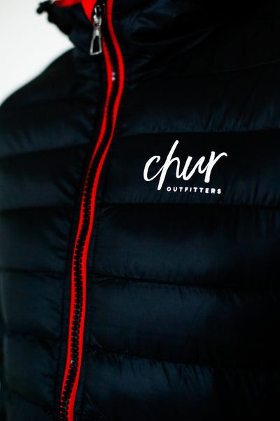 Chur Original II Jacket – Black/ Red