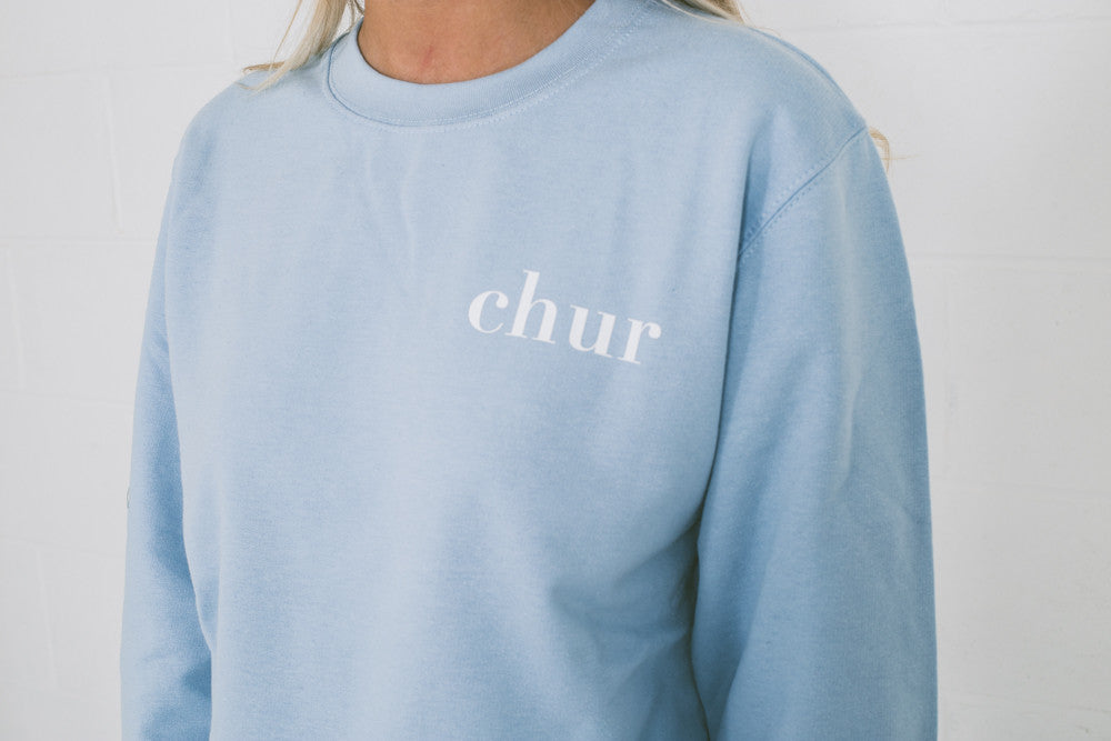 Chur Savoia Jumper - Light Blue