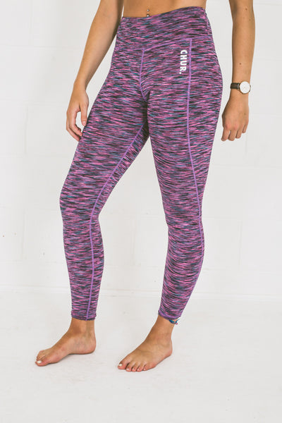 Chur Giralang Performance Leggings - Space Pink