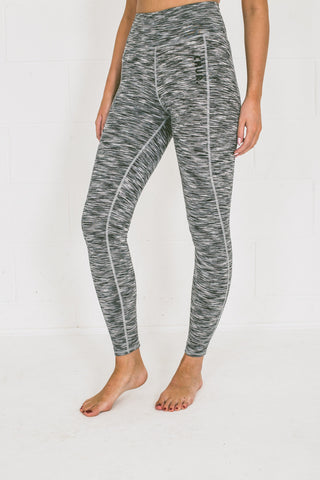 Chur Giralang Performance Leggings - Space Silver