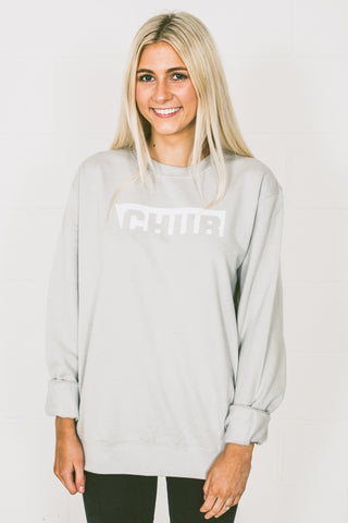 Ladies Chur Edwards Jumper –  Moondust Grey