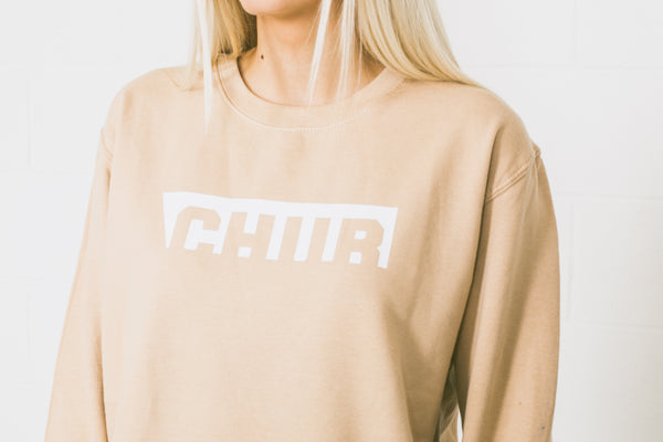 Ladies Chur Edwards Jumper –  Nude