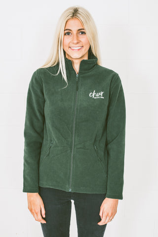 Ladies Chur Original Ice Fleece - Forest Green