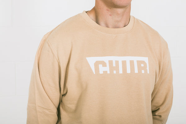 Chur Edwards Jumper - Nude