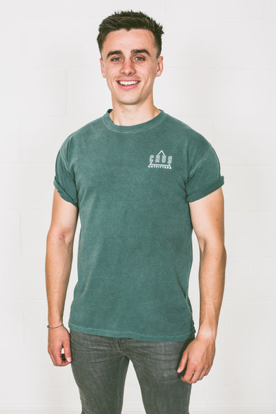 Chur McPhee Heavyweight T-Shirt - Willow Green