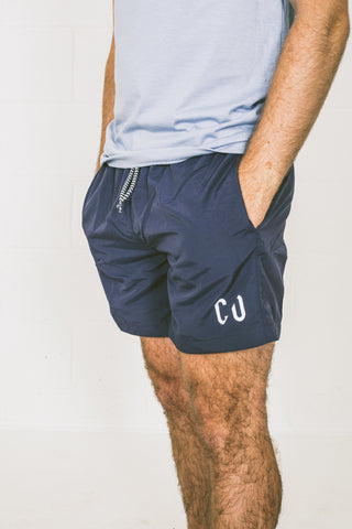 Chur Cantal Swim Short – Navy / Green